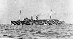 TSS Wahine - Minelaying 1917