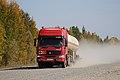 HOWO truck in Russia, 2011.jpg