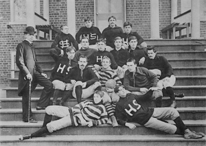 1894 Hampden–Sydney Tigers football team - Image: HS Cfootball 1894