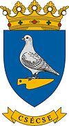 Huy hiệu của Csécse