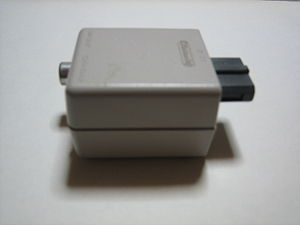 Nintendo Entertainment System (Model NES-101) - The external RF modulator for the AV Famicom