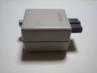 Nintendo Entertainment System (Model NES-101) - The external RF modulator for the AV Famicom