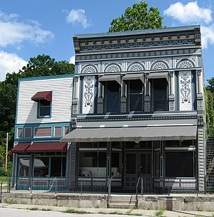 Hartsburg, Missouri - Hackman Building