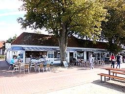Hafenplatz in Laboe