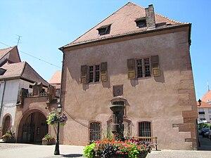 Ancienne Douane (Haguenau) - East side of Ancienne Douane in 2010