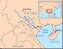List Of Rivers Of China Wikipedia - China rivers map
