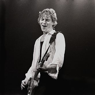Hal Lindes - Lindes with Dire Straits in June, 1981