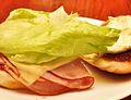 Ham n cheese w mayo (4618736815).jpg