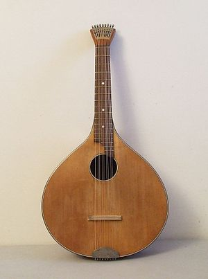Cittern - Hamburger Waldzither, c. 1920