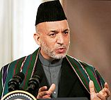 Hamid Karzai in 2006
