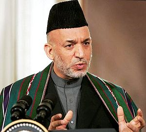 President Hamid Karzai, of the Islamic Republi...