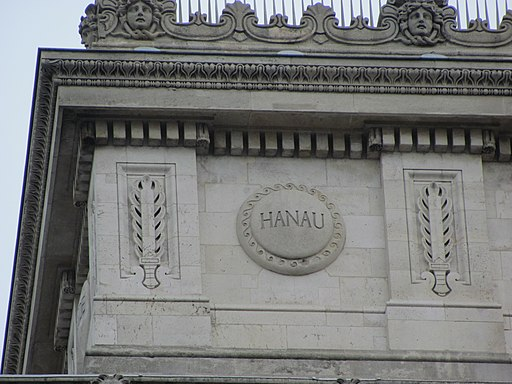 Hanau auf Arc de Triomphe