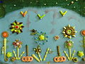 Hand-made Handicrafts constitute a wonderful plate made by beads and plastic.JPG