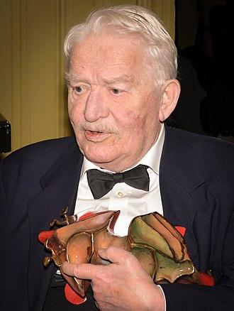 Guldbagge Honorary Award - Hans Alfredson received the Honorary Award at the 48th Guldbagge Awards.