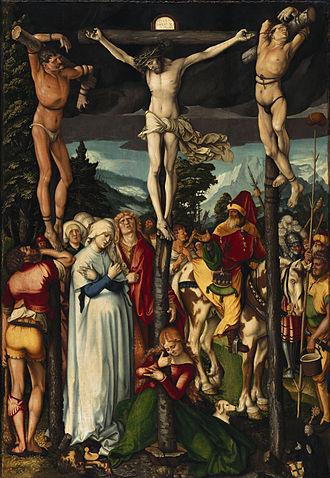 Hans Baldung - Crucifixion