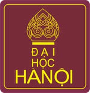 Hanoi University - Image: Hanu logo