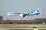 Hapagfly Boeing 737-800, D-AHLP@DUS,11.03.2007-453on - Flickr - Aero Icarus.jpg