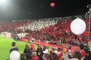 Tel Aviv derby - Image: Hapoel fans 2
