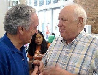 John Culver - Culver with Tom Harkin in 2010