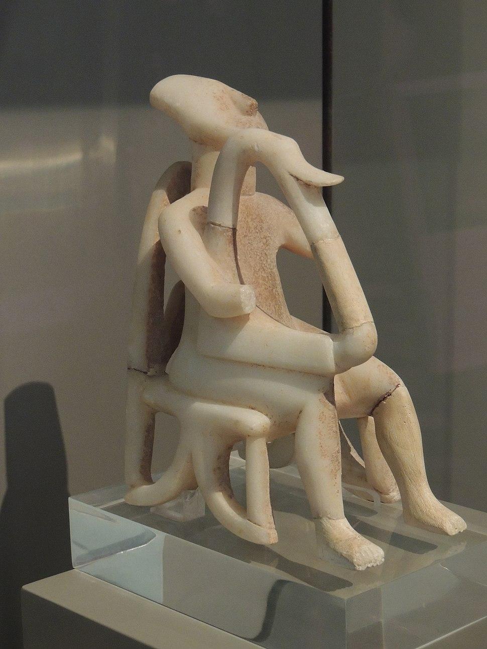 Harp player, Cycladic civilization - Greece
