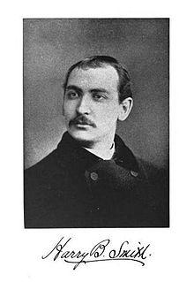 Harry B. Smith U.S. writer, lyricist and composer