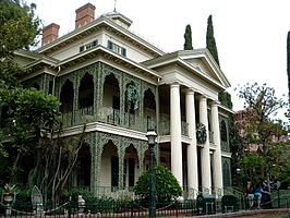 The Haunted Mansion in Anaheim