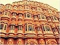 Hawa Mahal, Jaipur, Rajasthan, India.jpg