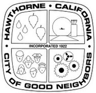 Hawthorne, California - Image: Hawthorne CA seal
