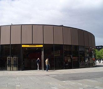 Haymarket, Newcastle - Haymarket Metro Station before renovation works began in 2007