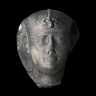 Thirtieth Dynasty of Egypt - Image: Head of Nectanebo II MBA Lyon H1701 IMG 0204