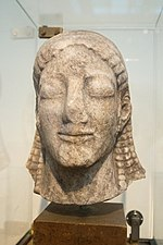 Head of a Kouros, 540 BC, NAMA 16, 190823.jpg