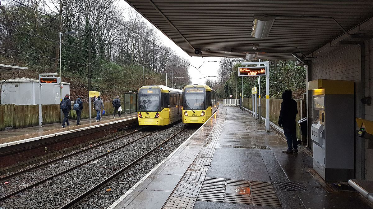 heaton park tram stop wikipedia. Black Bedroom Furniture Sets. Home Design Ideas