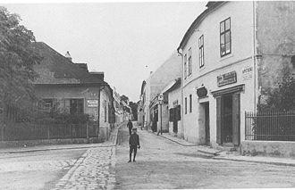 Heiligenstadt, Vienna - The Probusgasse in 1898