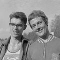 Hein Cujé en Gerda Kraan (1961).jpg