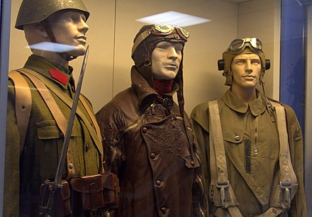 Greek military uniforms from 1941 on display in Athens War Museum Hellenic War Museum (Athens, Greece) (8669103692).jpg