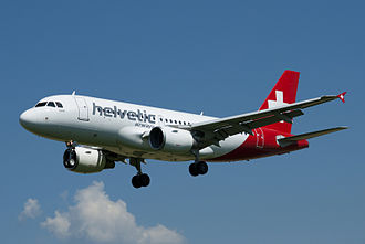 Helvetic Airways - Now phased-out Helvetic Airways Airbus A319-100