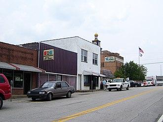 Wayne, West Virginia - Hendrick Street in Wayne