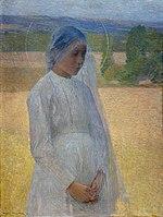 Henri Martin 1891 Jeune sainte.jpg
