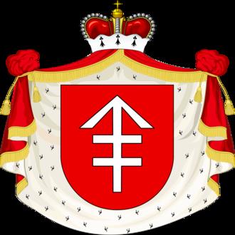 Jan Stanisław Sapieha - Sapieha family coat of arms