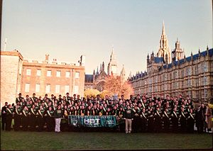 University of South Florida Herd of Thunder - Herd of Thunder in London