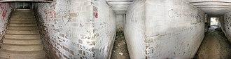 Henry Head Battery - Inside Henry Head Battery