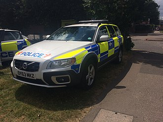 Hertfordshire Constabulary - An Armed Response Vehicle seen in Borehamwood, Hertfordshire