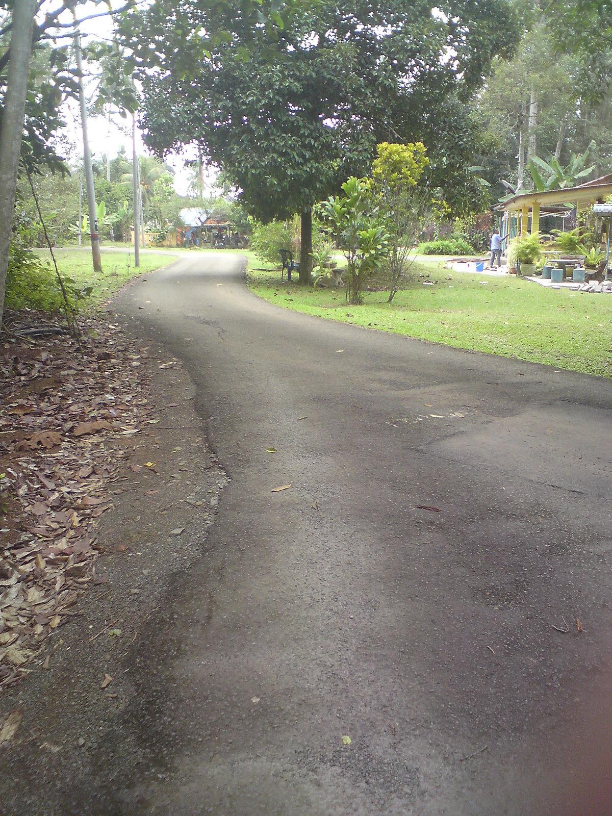 Jalan kampung - Wikipedia bahasa Indonesia, ensiklopedia bebas