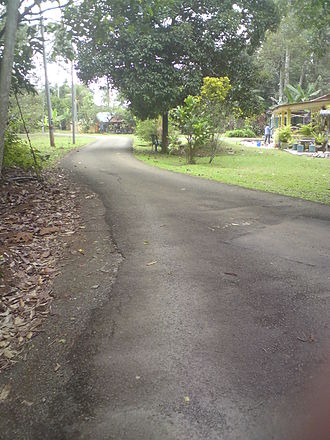 Country lane - Image: Hezery 99 jalankampung