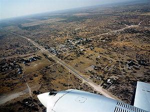 B6 road (Namibia) - Image: Highway Namibia IV