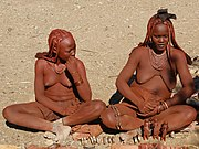 Himba ladies (Namibia)