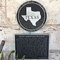 Historical marker parody in Synder, Texas.jpg