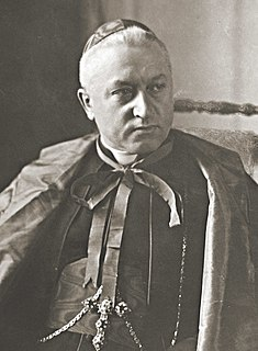 August Hlond Catholic cardinal.