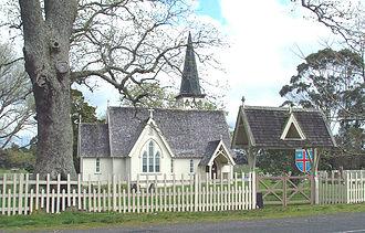 Pakaraka - Henry Williams' Holy Trinity Church, Pakaraka