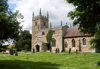 Honington, Lincolnshire - St Wilfrid's Church from the southeast